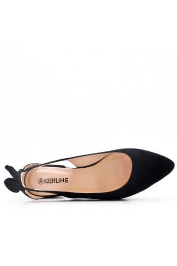 Sandale Plat En En Simili Daim Avec Lapin Oreille